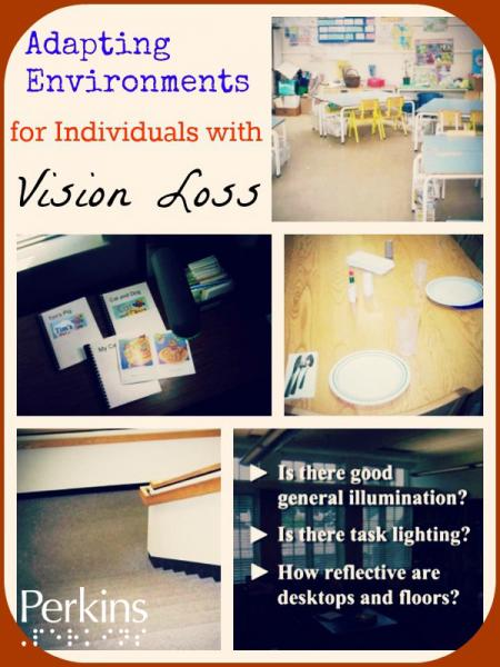 Adapting Environments for Individuals with Vision Loss with Darick Wright.