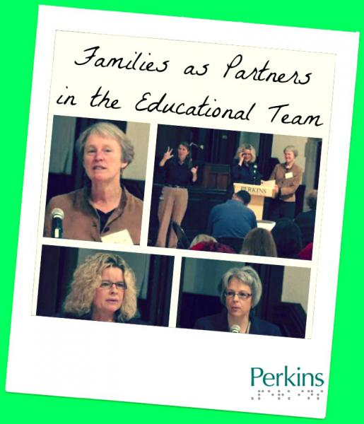Families as Partners in the Educational Team with Dr. Katharine Shepherd and Susan LaVenture.