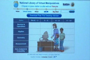 The National Library of Virtual Manipulatives, this website is mat-related for students from pre-K to high schools.