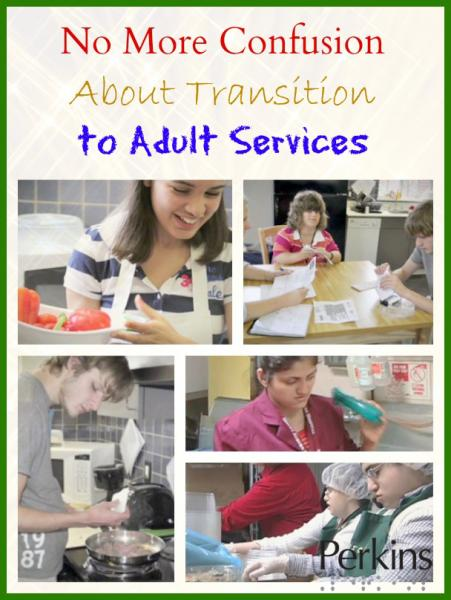 No More Confusion About Transition to Adult Services with Beth Jordan.