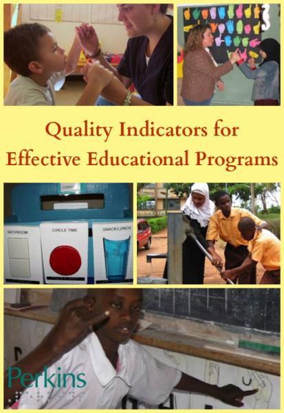 Quality Indicators for Effective Educational Programs with Marianne Riggio.