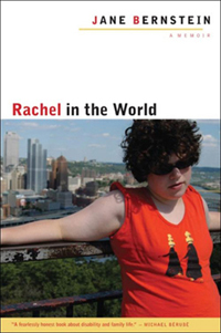 Book cover for Rachel in the World by Jane Bernstein.