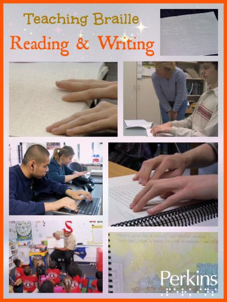 Teaching Braille Reading & Writing with Lucia Hasty.