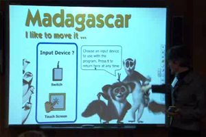 One of the examples of Interactive storybooks on Madagascar.
