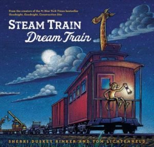 cover of the book, Steam Train Dream Train