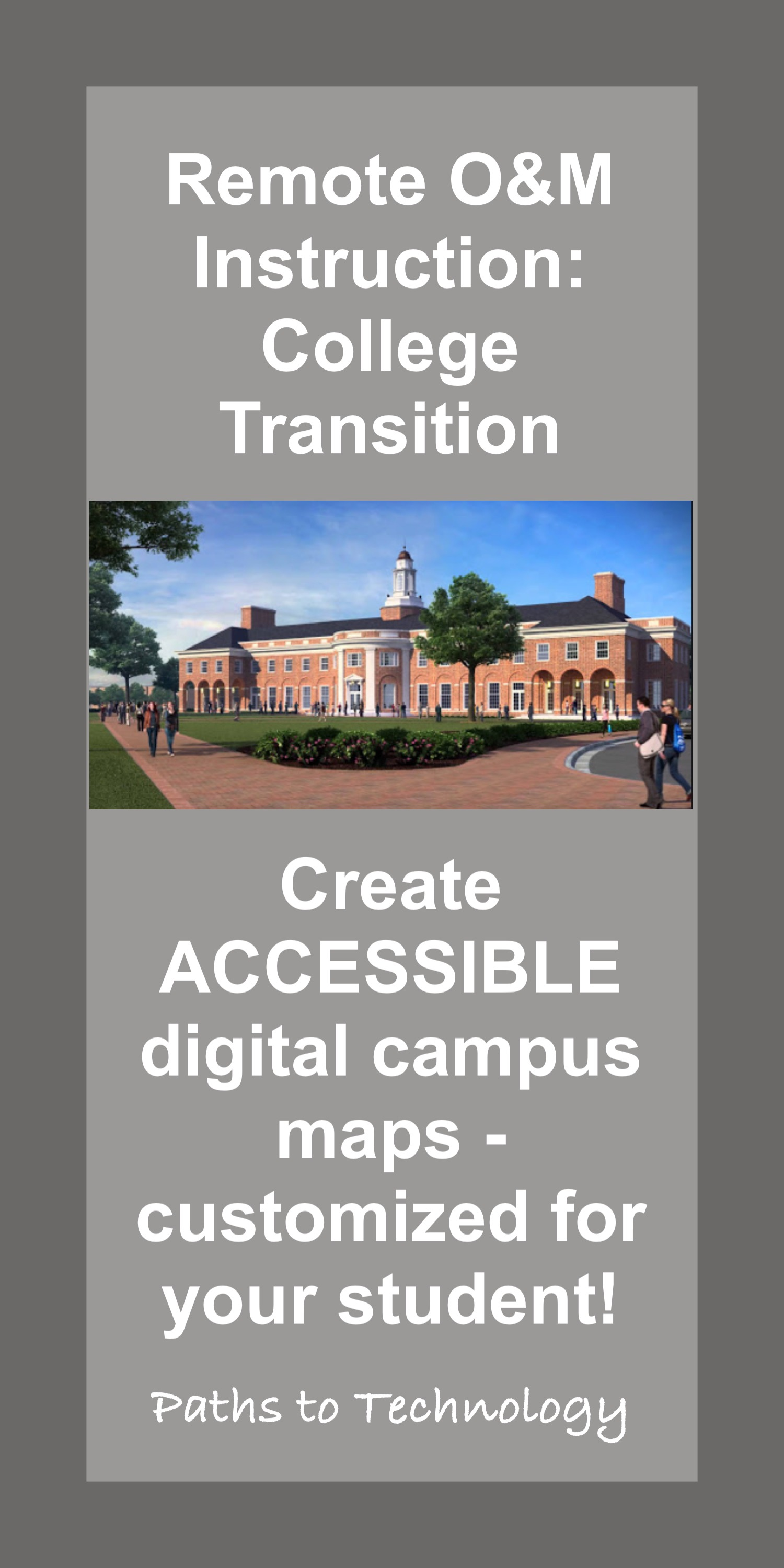 Remote O&M Instruction: College Transition
