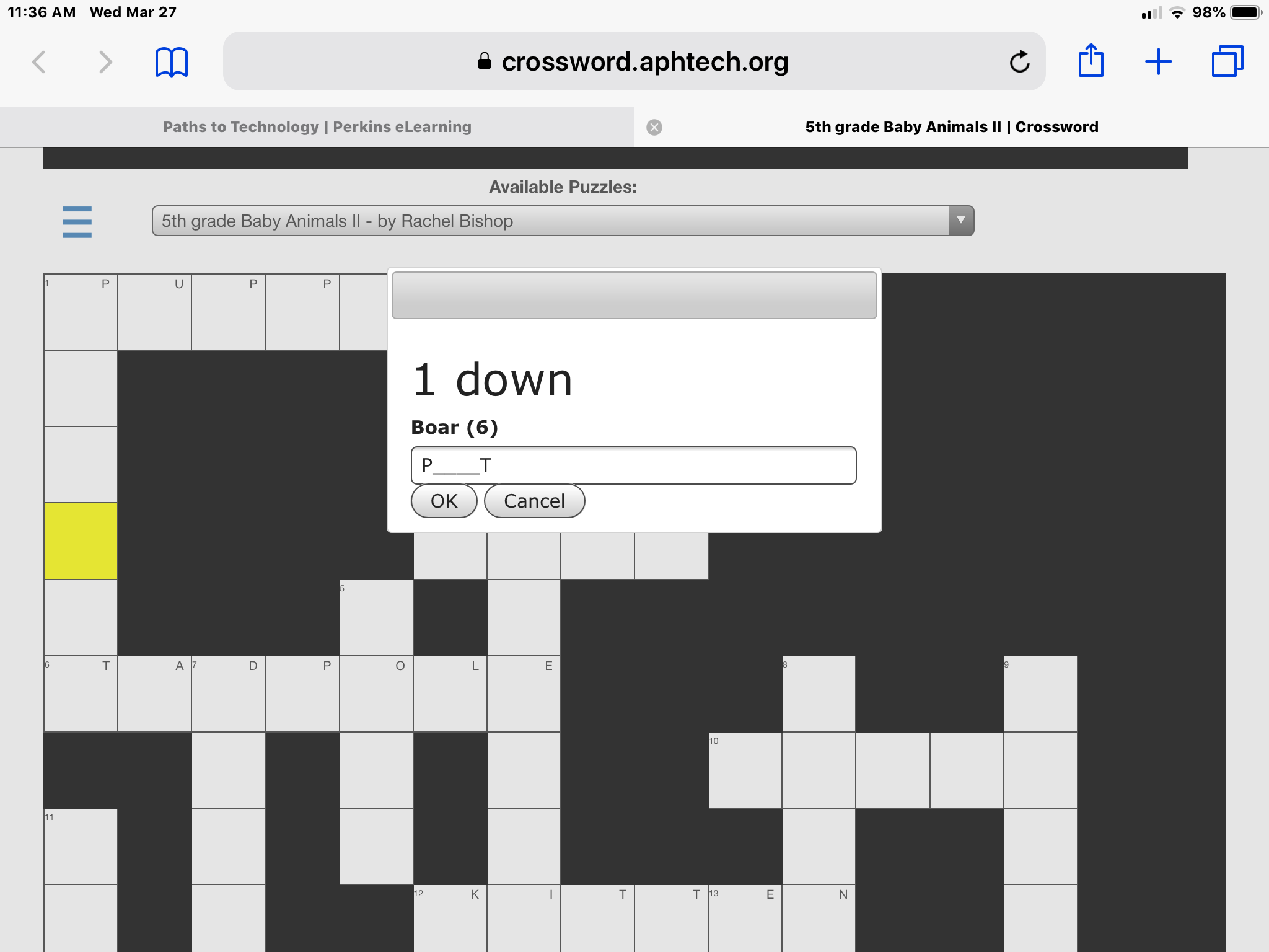 Magnificent Aph Accessible Crossword Puzzle App Review Paths To Home Interior And Landscaping Elinuenasavecom