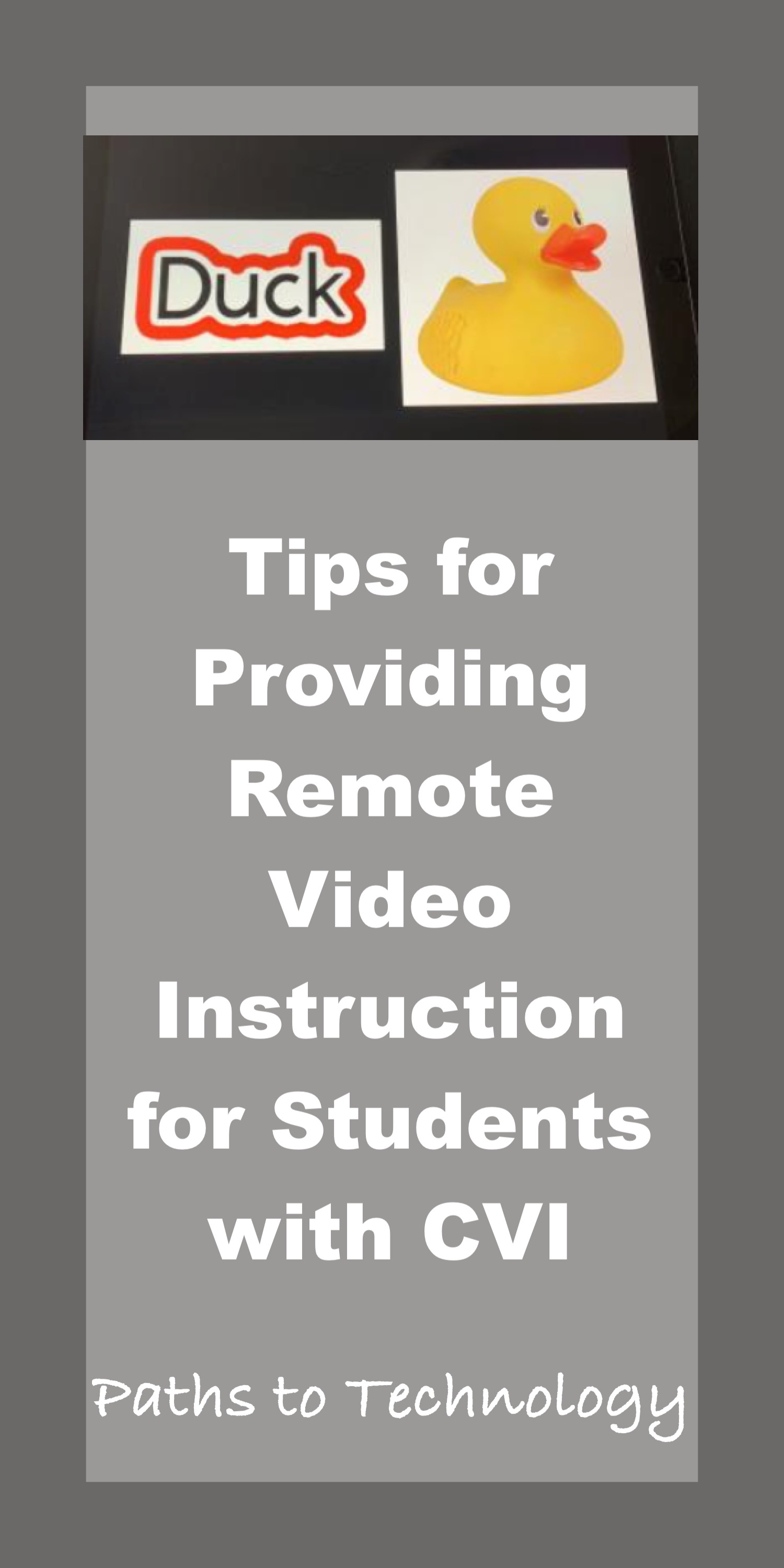 Tips for Providing Remote Video Instruction Pinterest tag