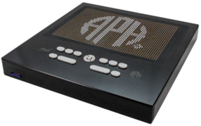 APH Graphiti: prototype of a full screen braille display that instantly reproduces digital graphs & images with tactile images using raised pins.