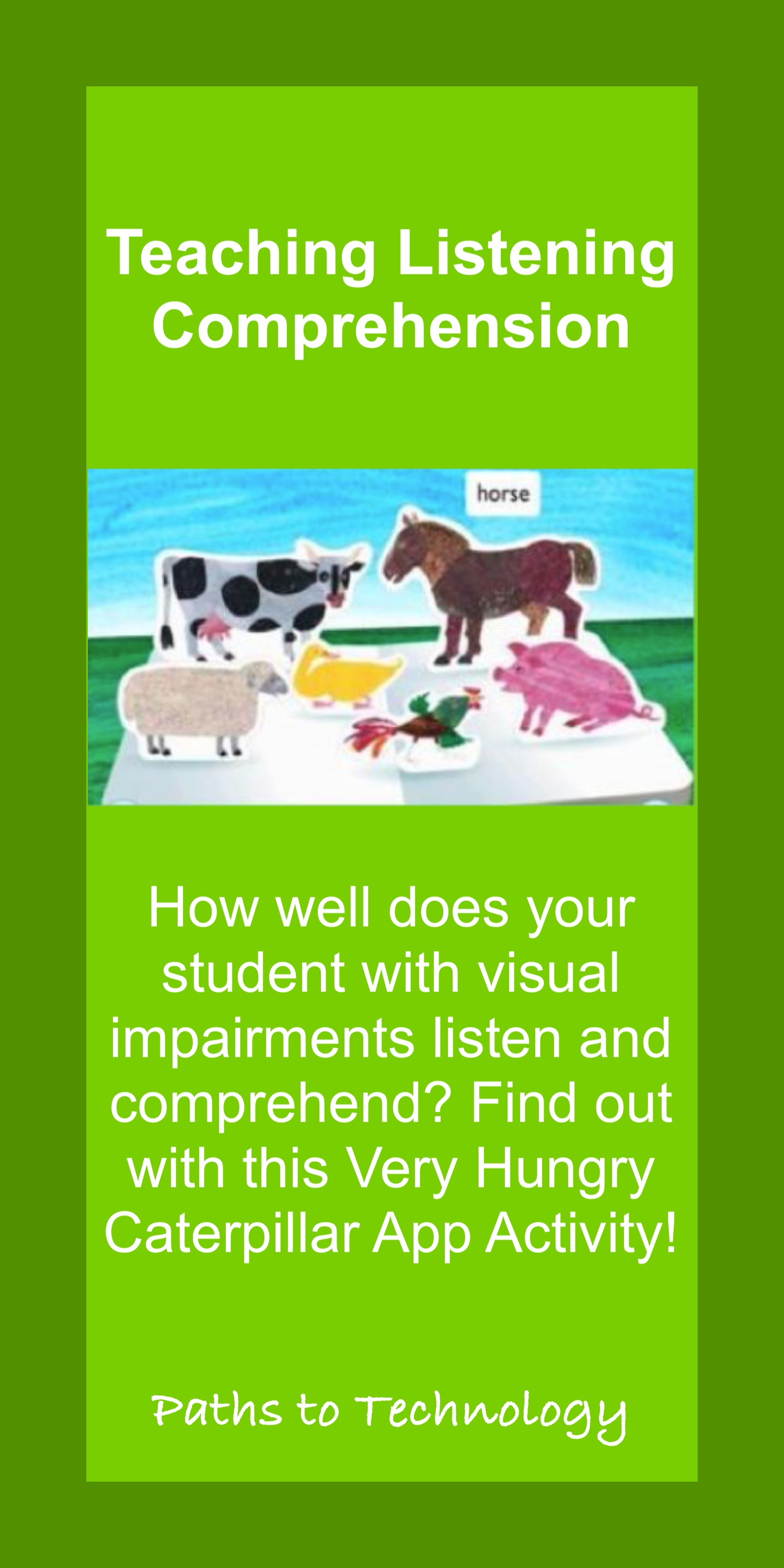 Listening Comprehension Pinterest Pin