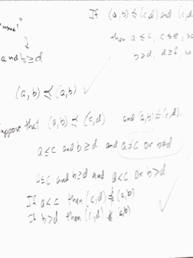 A washed image of handwritten math equations.