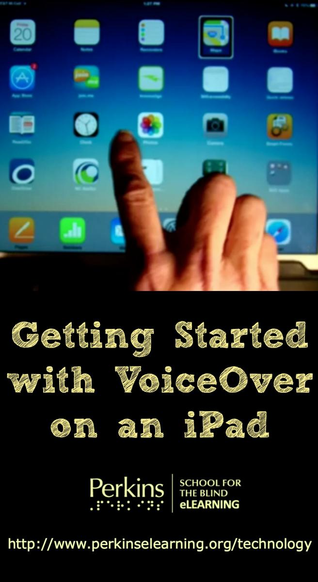 Pinterest Collage of VoiceOver