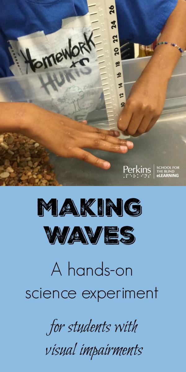 Pinterest collage of making waves